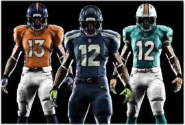 New Nike NFL Uniforms
