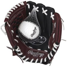 Left handed baseball glove