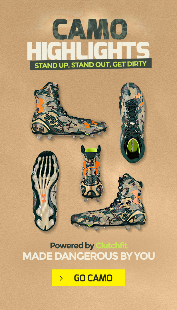 Under Armour Camo Highlight Football Cleats