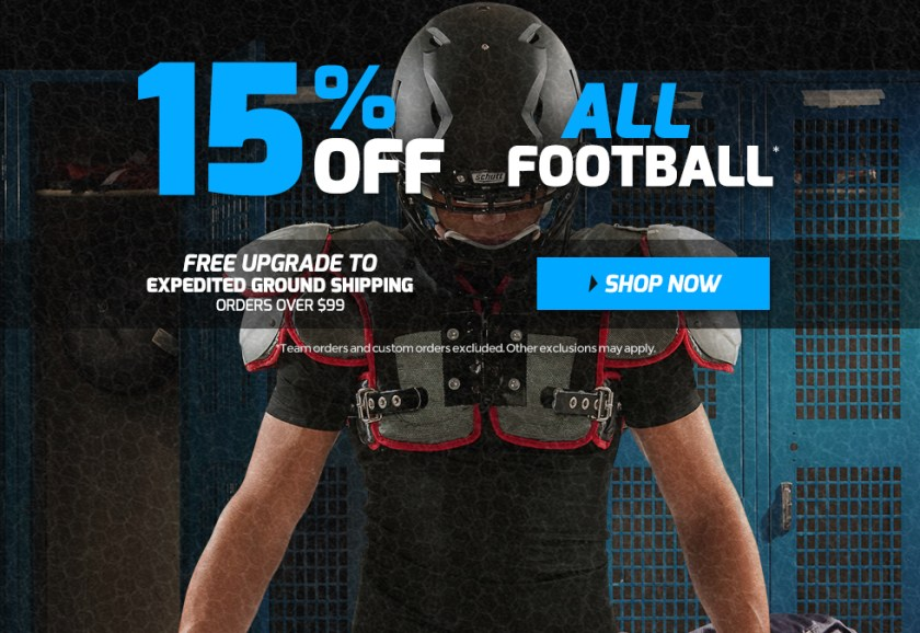 Holiday Football Sale