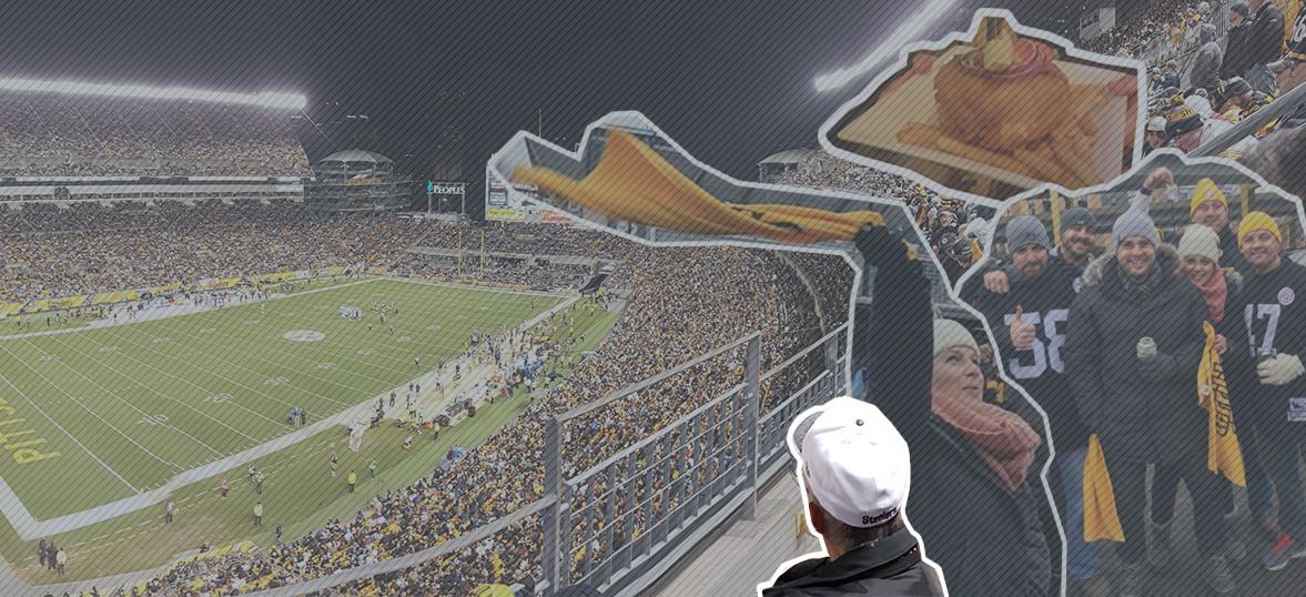 Heinz Field Visior Guide Pittsburgh Steelers