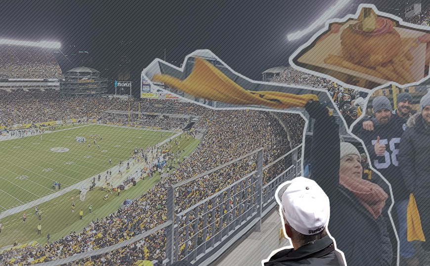 Heinz Field Visior Guide Pittsburgh Steelers