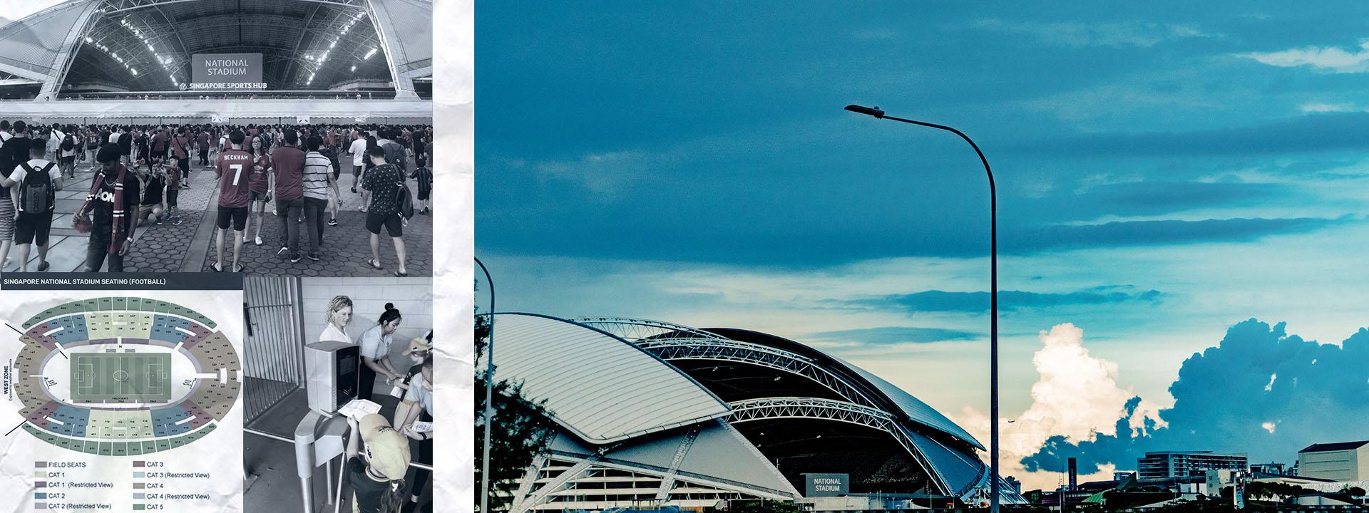Singapore National Stadium Visitor Guide Australia -2020
