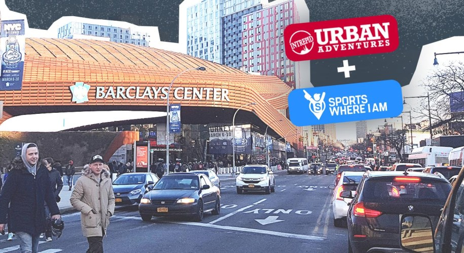 Brooklyn Nets pre game experience Urban Adventures tour1