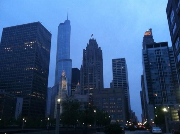 Beautiful Chicago Neighborhood River North