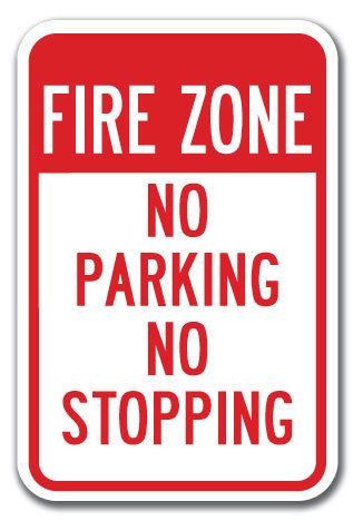 avoid parking tickets fire zone no parking
