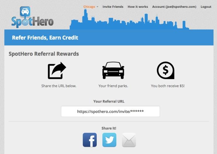 sh referral screen shot