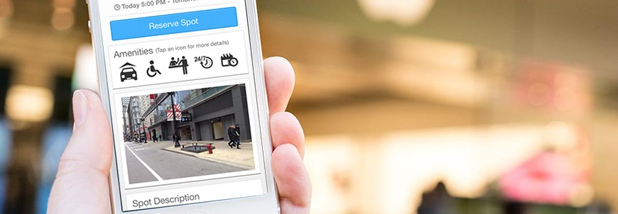 spothero mobile parking app