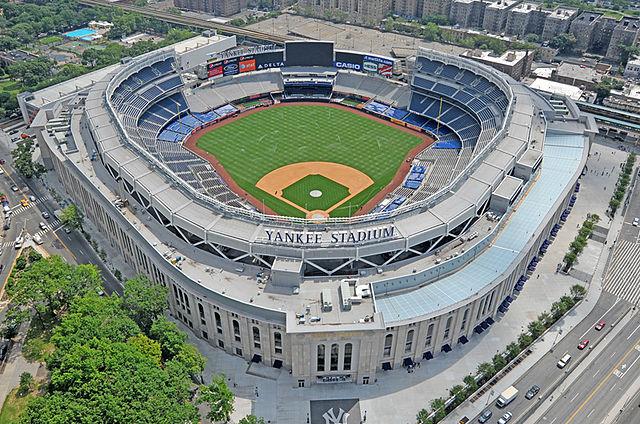 Yankee Stadium in The Bronx, New York.