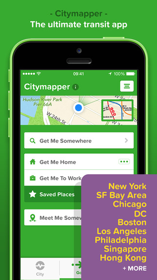 15 Best Apps for Commuters Who Drive - Citymapper