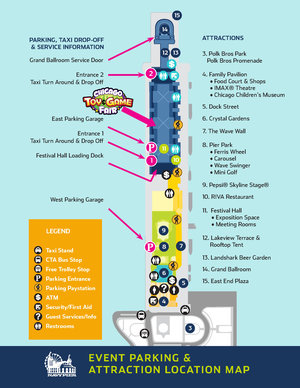 Parking And Other Tips For The Chicago Toy And Game Fair Spothero