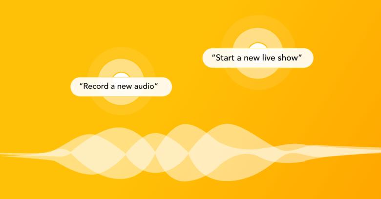 Siri Shortcut for podcast - Spreaker voice command
