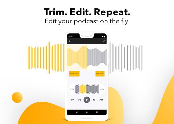 Podcast editing process