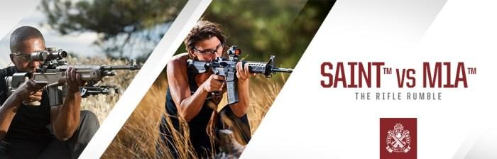 SAINT™ VSM1A™: The Rifle Rumble