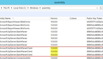 SQL SERVER - Error: Could not Load File or Assembly