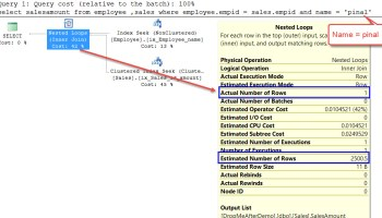 SQL SERVER - Puzzle - Get the First Name From Full Name Without CHARINDEX FilterStats-01