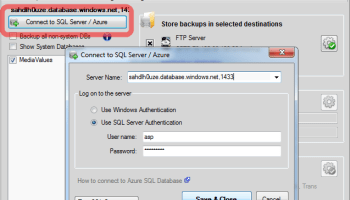 SQL Azure - Add IP Address to Firewall image03