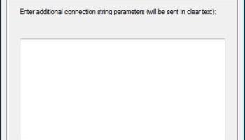 SQL Server - Using SSMS Command Line Parameters advanceconnection