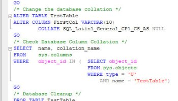 SQL SERVER - Query to find number Rows, Columns, ByteSize for each table in the current database - Find Biggest Table in Database colcollation