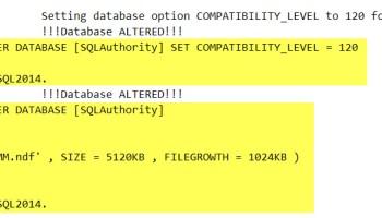 SQL SERVER - How to Change Database Compatibility Level? ddl-trigger-01