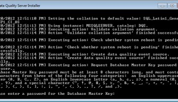SQL SERVER - Unable to DELETE Project in Data Quality Projects (DQS)  dqs4
