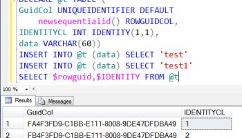 SQL SERVER - Finding Out Identity Column Without Using Column Name identidentity