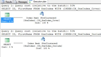 SQL SERVER - Optimize Key Lookup by Creating Index with Include Columns keylook6