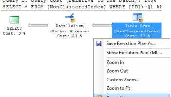 SQL SERVER - Parallelism and Threads with No Work paral2
