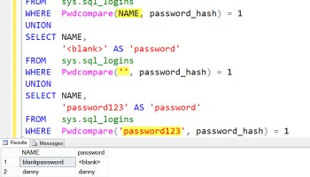 How to Enforce Password Policy of Windows to SQL Server? - Interview Question of the Week #142 weak-password-01