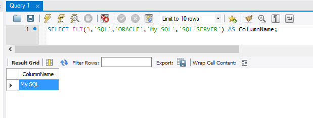 MySQL - ELT() and FILED() Functions to Extract Index Position From List mysql-index-position1