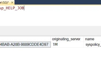 SQL SERVER - FIX: SQLServerAgent is not currently running so it cannot be notified of this action. (Microsoft SQL Server, Error: 22022) sp_help_job