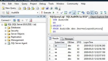 SQL SERVER - Script to Audit Login and Role Member Change logintr3