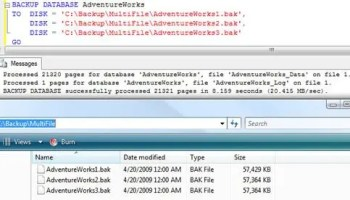 SQL SERVER - Combined Multiple  SQL files into One Single