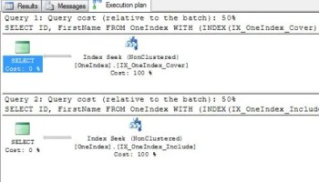 SQL SERVER - Query Optimization - Remove Bookmark Lookup - Remove RID Lookup - Remove Key Lookup - Part 2 keylook6