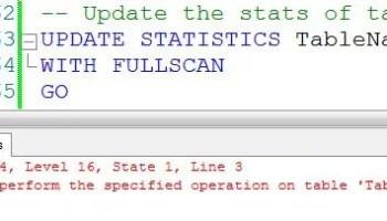 SQL SERVER - Disable Index - Enable Index - ALTER Index disclu3