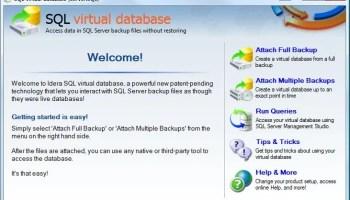 SQL SERVER - Retrieve and Explore Database Backup without Restoring