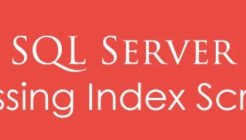 SQL SERVER - Unused Index Script - Download missingIndex