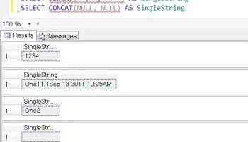SQL SERVER - Concat Strings in SQL Server using T-SQL - SQL in Sixty Seconds #035 - Video concat1