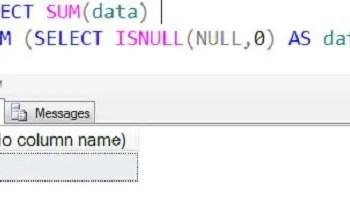 SQL SERVER - Fix: Error: 8117: Operand data type bit is invalid for sum operator 8117error2