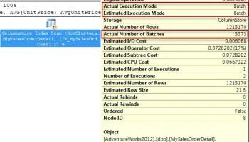 SQL SERVER - Row Mode and Memory Grant Feedback batchmode