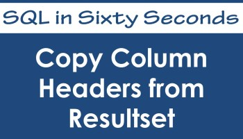 Copy Database - SQL in Sixty Seconds #169 27
