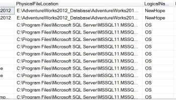 SQL SERVER - New DMV in SQL Server 2017 - sys.dm_os_enumerate_fixed_drives. A Replacement of xp_fixeddrives freemb4