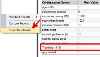SQL SERVER - Checking Traceflag Status with TRACESTATUS tracestatus-01