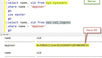 SQL SERVER - AlwaysOn Availability Groups: Script to Sync Logins Between Replicas? LoginWithSID-02