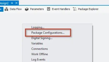 SQL SERVER - Getting Started with Project Versions in the SSIS