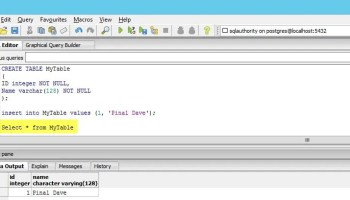 POSTGRESQL - How to Create Function? - How to Declare Local Variable PG-Linked-01