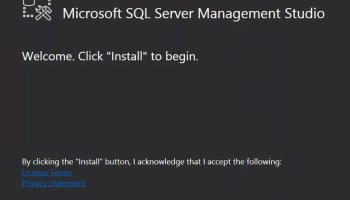 SQL SERVER - 2012 RC0 Various Resources and Downloads SSMS-2016-04