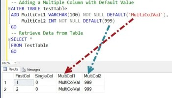 SQL SERVER - Puzzle - Brain Teaser - Changing Data Type is Changing the Default Value multicoladd3