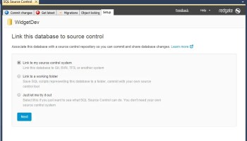 SQL SERVER - Dedicated Database Development with SQL Source Control 1-Link-to-SQL-Source-Control