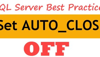 SQL SERVER - Manage Help Settings - CTRL + ALT + F1 autoclose